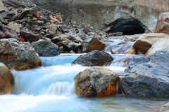 River from glacier Royalty Free Stock Photo
