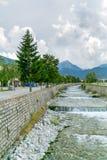 River Glazne. In Bansko, Bulgaria in summer time Stock Image