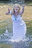 River Goddess Stock Images