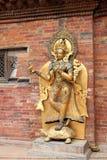 River goddess Ganga at Mul Chowk, Royal Palace in Patan Royalty Free Stock Photography