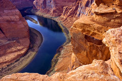 Narrow Gorge Colorado River Utah Outdoor Royalty Free Stock Photos