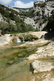 River in Gorges de Galamus, France Stock Photo