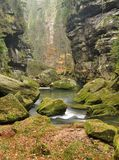 River in gorges Royalty Free Stock Photos