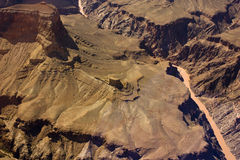 River through the Grand Canyon Stock Photo