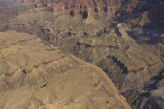River through the Grand Canyon Royalty Free Stock Image
