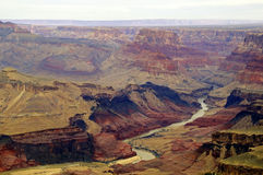 River through Grand Canyon Royalty Free Stock Photo