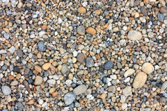 River gravels. Background texture detail Stock Images