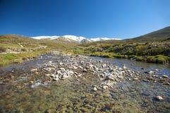 River at gredos natural park Stock Photos