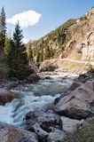 River in Grigorevsky gorge Stock Images