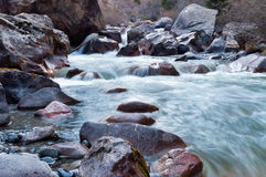 River in Grigorevsky gorge Stock Photography