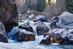 River in Grigorevsky gorge Stock Photos