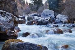 River in Grigorevsky gorge Royalty Free Stock Photography