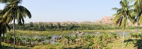 The river at Hampi Royalty Free Stock Photo