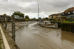 River harbour with low tide, Rye Royalty Free Stock Image