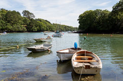 The River Helford Royalty Free Stock Photo