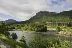 River Hemsila in Norway Stock Image