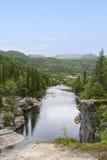 River Hemsila in Norway Stock Photo