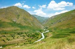 River among high mountains Royalty Free Stock Image
