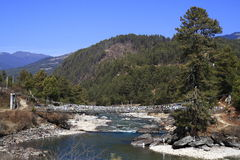 River in Himalaya Mountain Royalty Free Stock Images