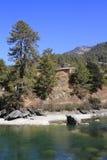 River in Himalaya Mountain Royalty Free Stock Image