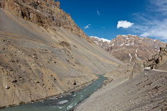 River in Himalayas Royalty Free Stock Photography