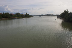River in Hoi An Royalty Free Stock Photography