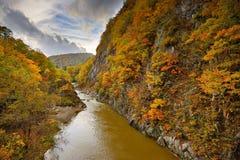 River in Hokkaido Stock Photo