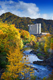River in Hokkaido Stock Image
