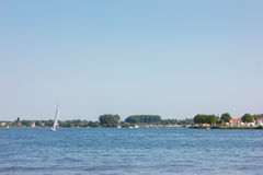 River in holland holliday nature summer. River in holland holliday water holiday sailboat Stock Images