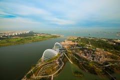 River Hongbao view from roof Marina Bay Stock Photos