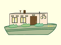 River house color water transport Royalty Free Stock Photo