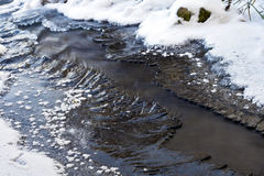 River and ice Royalty Free Stock Photo