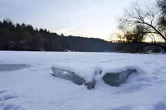 River ice Stock Photography