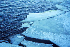 River ice Stock Image