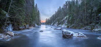 River of ice Royalty Free Stock Photos