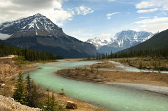 River In The Rocky Mountains Royalty Free Stock Photo