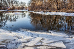 Free River In Winter Royalty Free Stock Images - 38322689