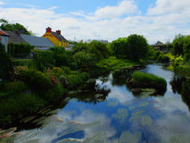 River Inagh Sky Reflection Ireland Stock Photography