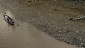 River in India stock footage