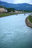 River Inn,Austria. royalty free stock image