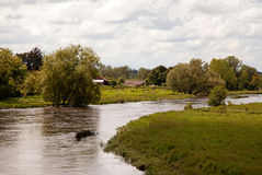 River in Ireland Stock Photography