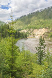 The river Irkut. East Sayan mountains. Royalty Free Stock Photo