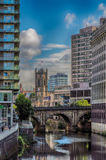 River Irwell, Manchester Royalty Free Stock Photos