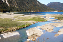 River Isar Royalty Free Stock Photos
