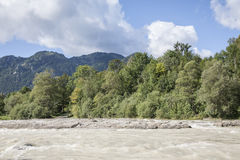 River Isar Royalty Free Stock Image