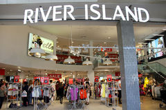 River Island Store Royalty Free Stock Image