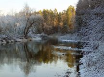 River Istra Royalty Free Stock Photography