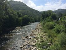 River in italy Royalty Free Stock Photo