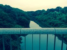 River. Japan green Chiba ken Stock Image