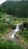 River in Jigokudani snow monkey park Royalty Free Stock Photos